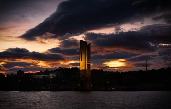 Just before Dawn, Canberra by BobinAus