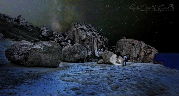 Night Boulders by Kemmuna