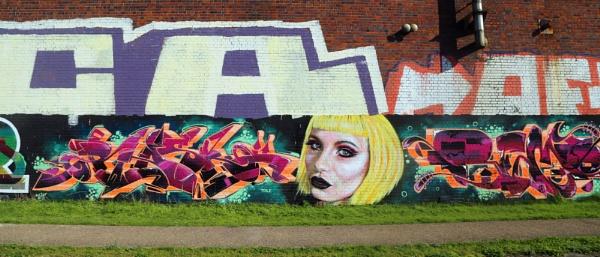 Graffiti or art ? by Ffynnoncadno