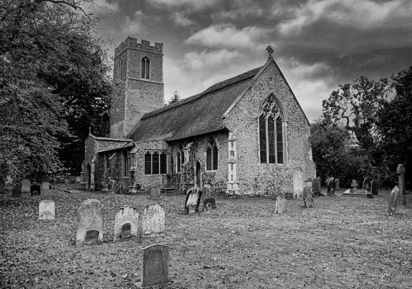 Ranworth Church by Ffynnoncadno
