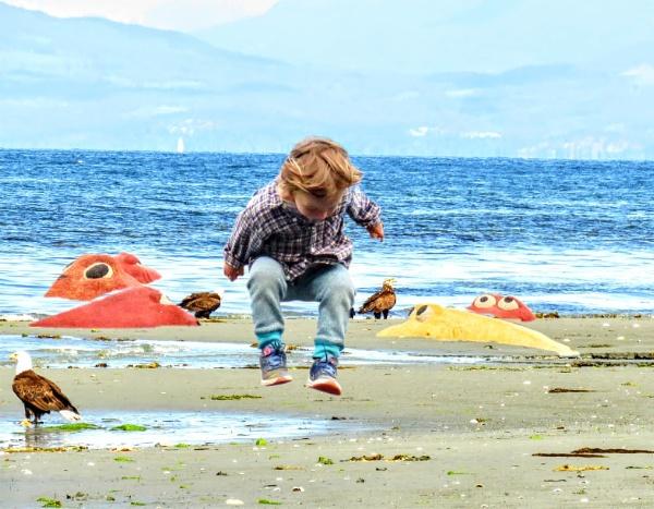 Jumping Ben by judee