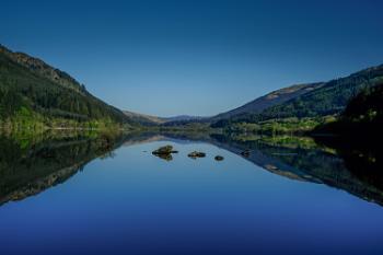 Loch Eck in Cowal Argyll