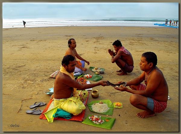 Saraddha(Pitri Pakshya) at Digha Sea Beach(32) by debu