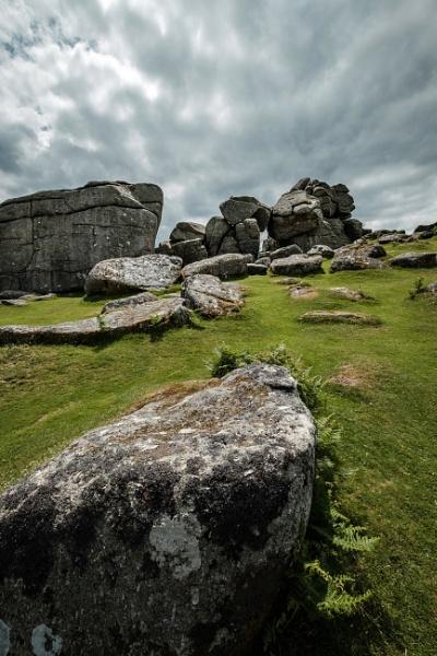Bonehill Rocks Dartmoor by topsyrm