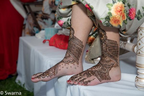 Mehendi on Feet II... by Swarnadip
