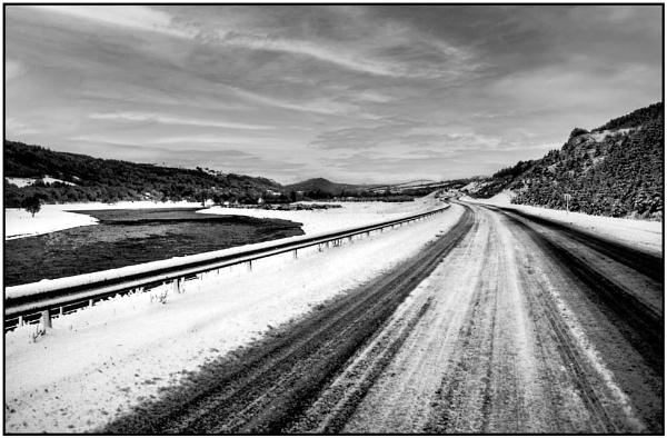 Winter Road A9 by mac