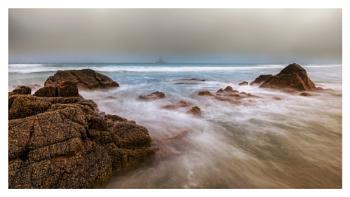 Foggy St Ouens Bay