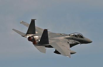 F15 leaving Lakenheath