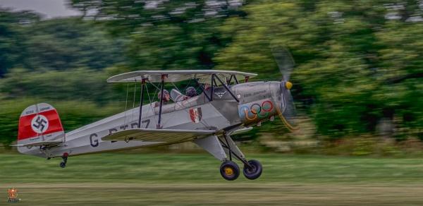 (Bucker Jungmann) at Headcorn Aerodrome by af1
