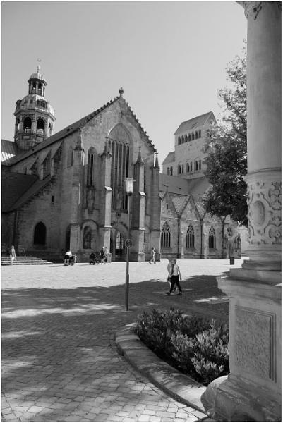 Hildesheim, Cathedral (lead & V1-V5) by EveLine1