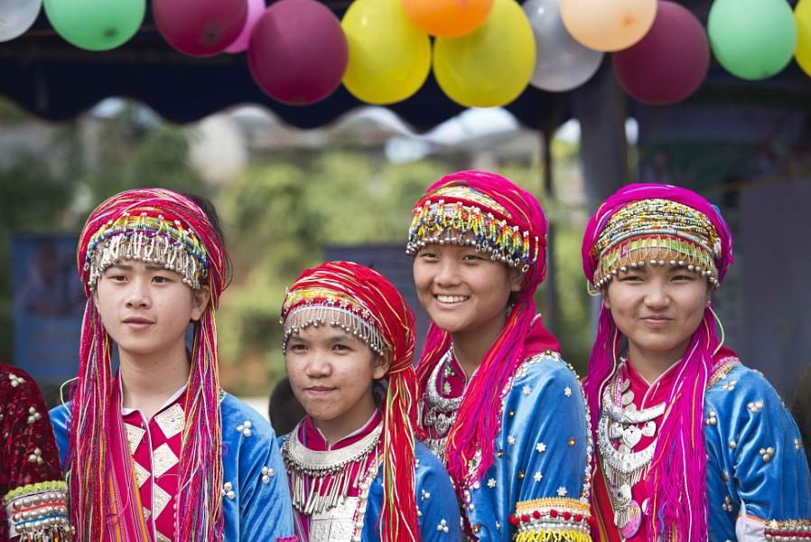 Maetang minority village, Thailand