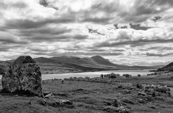 Meeting Stone - Loch Naver by Backabit
