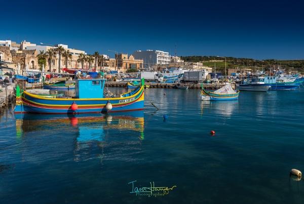 Marsaxlokk Harbour by IainHamer