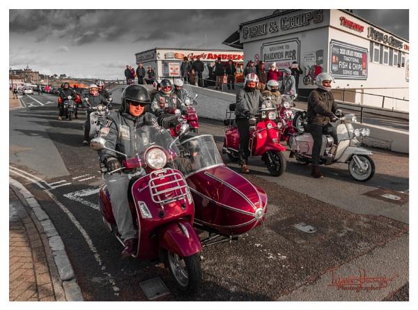 Scooter rally Paignton by IainHamer