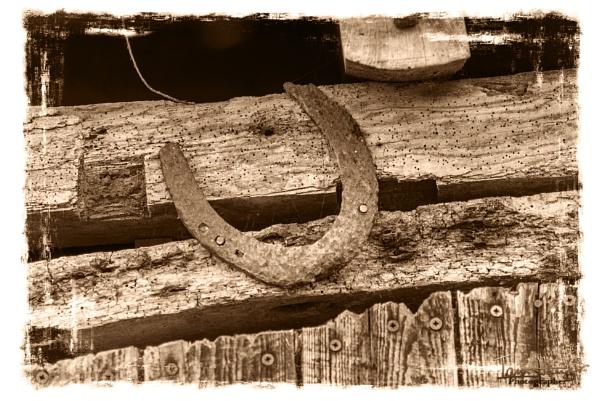 Rusty Horseshoe by IainHamer