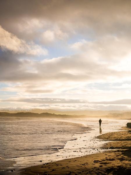 Northumberland beach by GPWalker