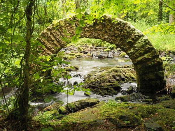 Goldsworthy Arch Drumlanrig Estate by elmer1