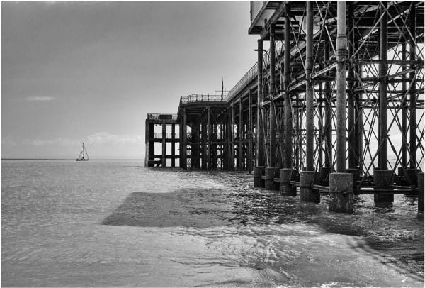 Underneath the pier...2 by franken