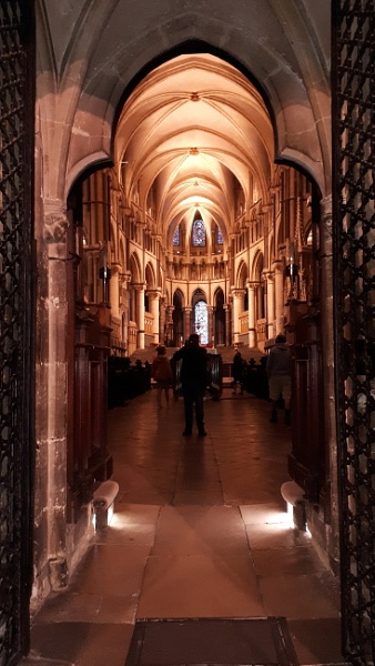 In Canterbury Cathedral by GardenofEden