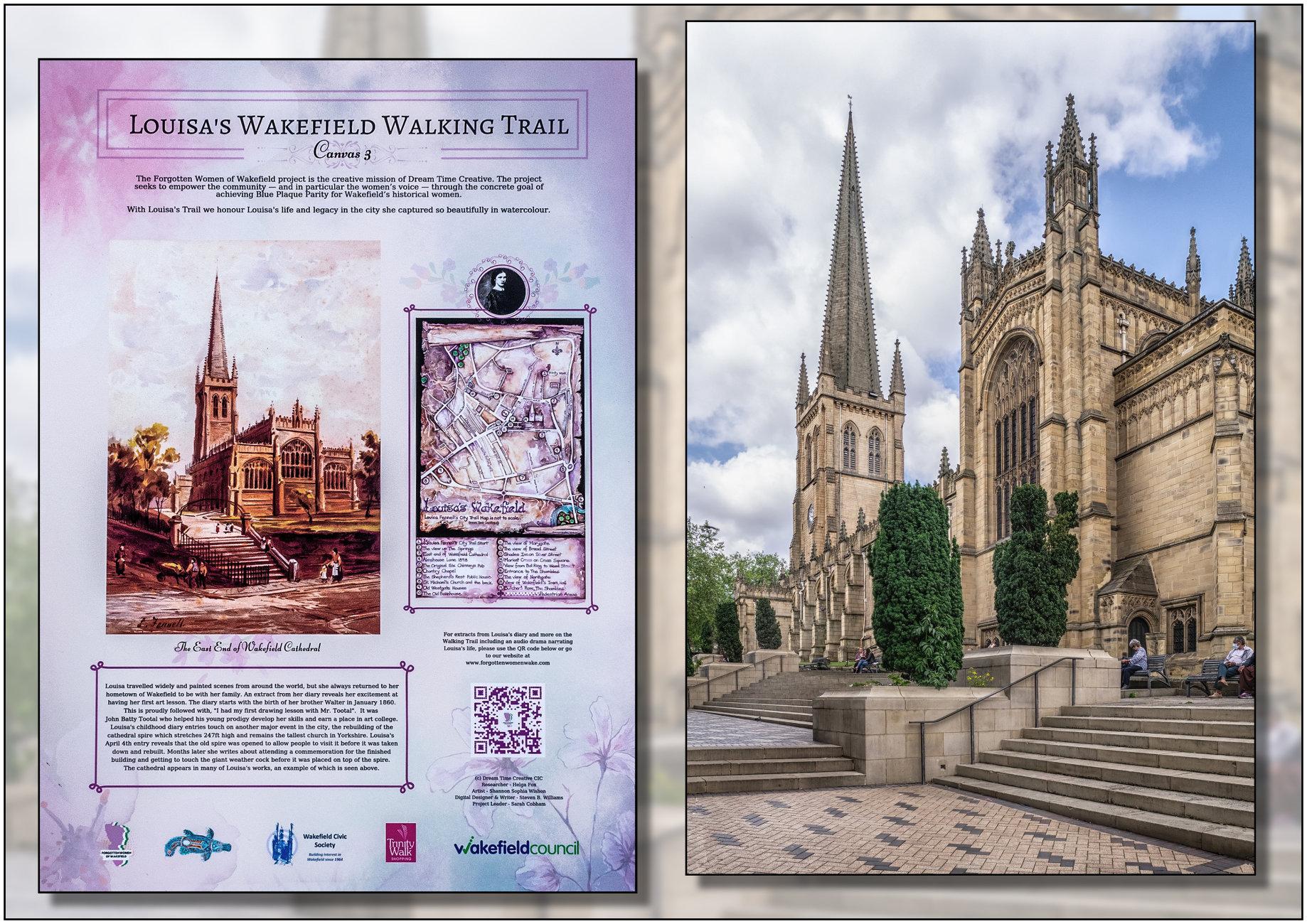 Louisa's Wakefield Walking Trail 1