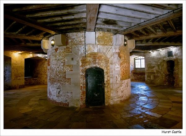Inside Hurst Castle by Robert51