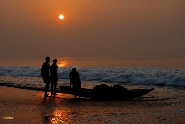 Puri Sea Beach Sunrise(41) by debu