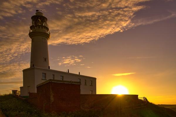 Lighthouse & Sun 3 by Alan_Baseley