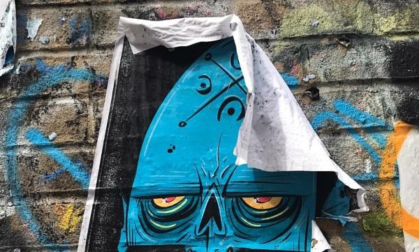 Wacky on the wall... by Chinga
