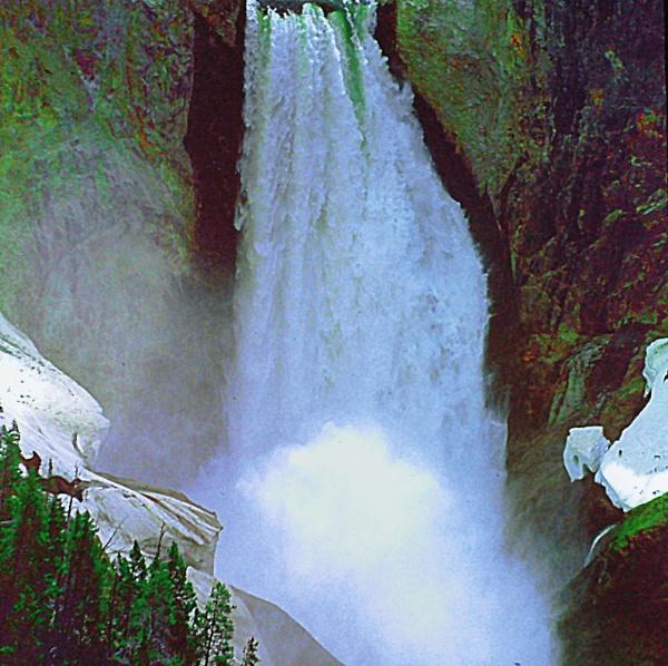 Helmken Falls, - Wells Gray Provincial Park, British Columbia  (best viewed large) by gconant