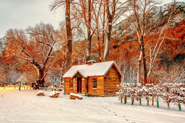 Arrowtown Miners Hut by capturingthelight