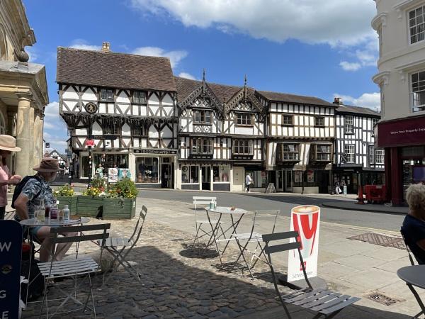 Ludlow town by lightshipman