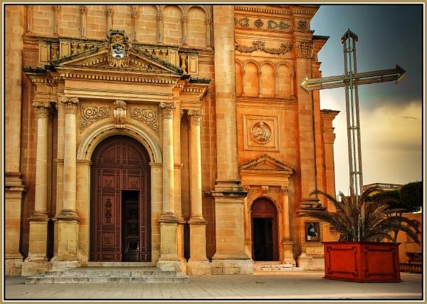 QALA --- PARISH CHURCH --- GOZO by Edcat55