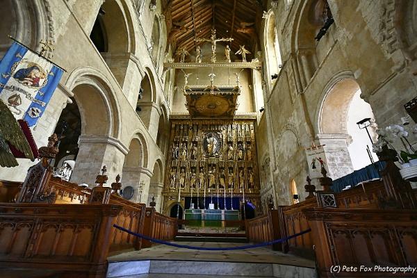 Wymondham Abbey by Peterdrainage