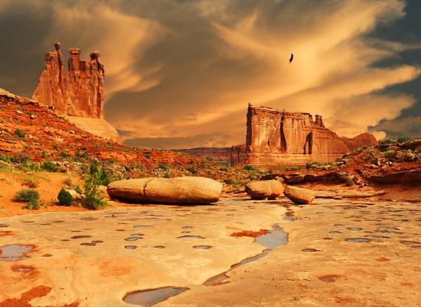 Foreboding Land by jrsundown
