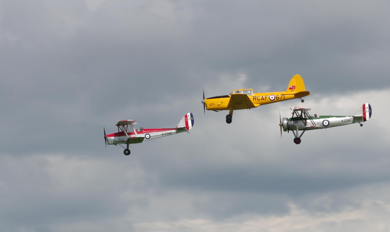 RAF Trainer Trio