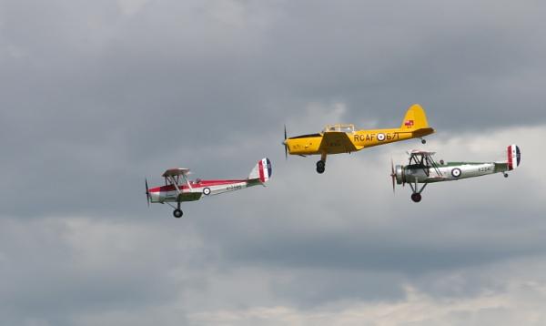 RAF Trainer Trio by Kako