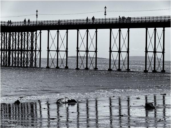 Underneath the pier. by franken