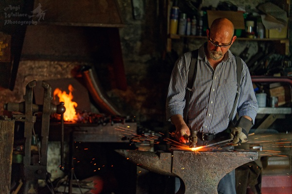 The Black smith by Angi_Wallace