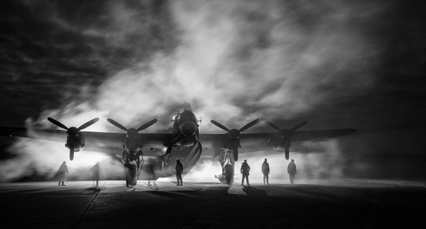 Foggy departure by rontear