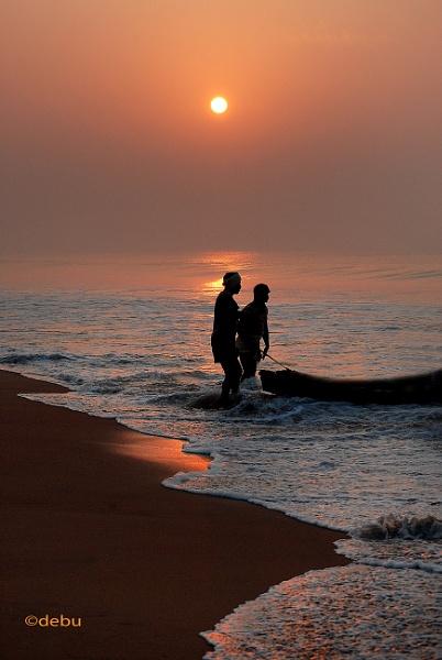 Puri Sea Beach Sunrise(43) by debu
