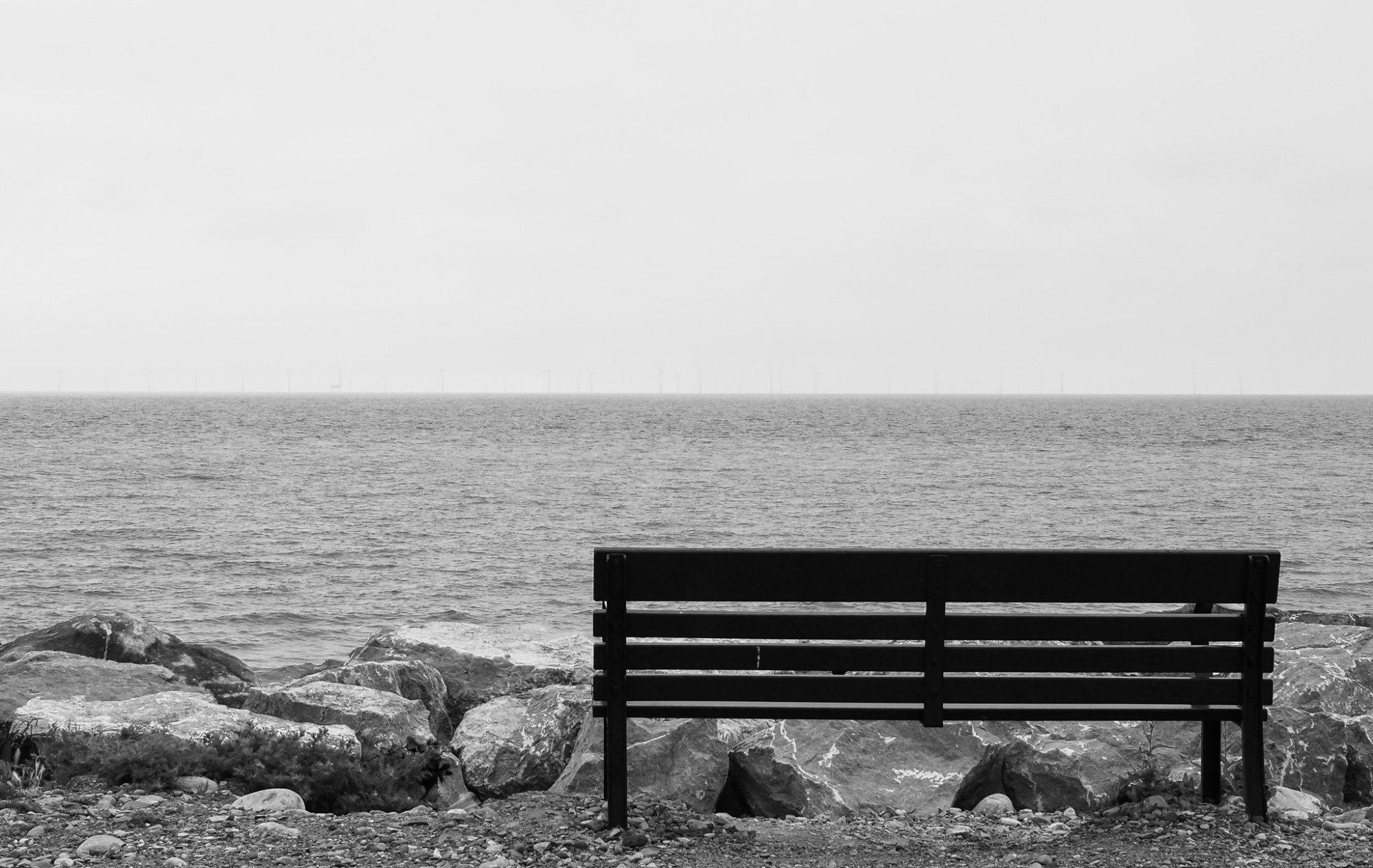 Seaside Bench, Llanddulas, Gogledd, Cymru