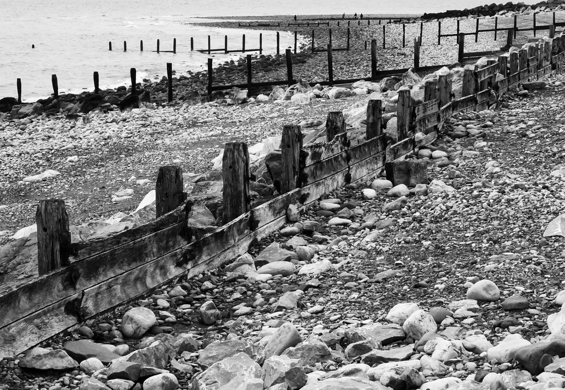 Beach Scene, Llanddulas, Gogledd Cymru