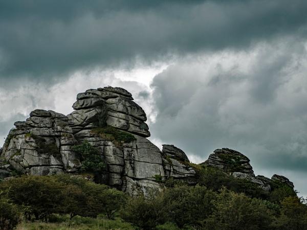 Vixen Tor Dartmoor by topsyrm