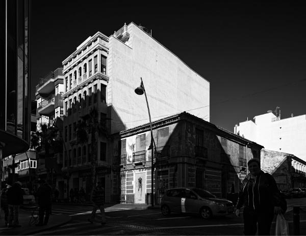 Torrevieja street in shadow by pdunstan_Greymoon