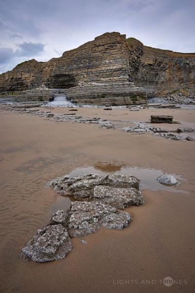 Monknash Beach Rocks II. by jarvasm