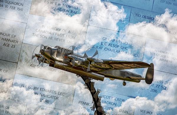 Avro Lancaster Sculpture by Owdman