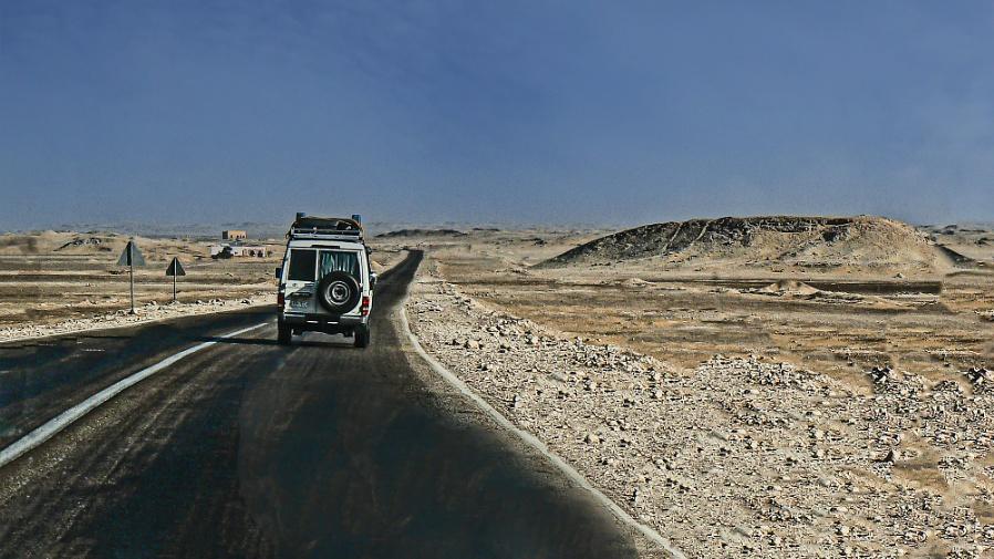Speeding Through the Desert