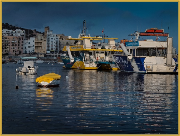 Bugibba ----- Summer Colours by Edcat55