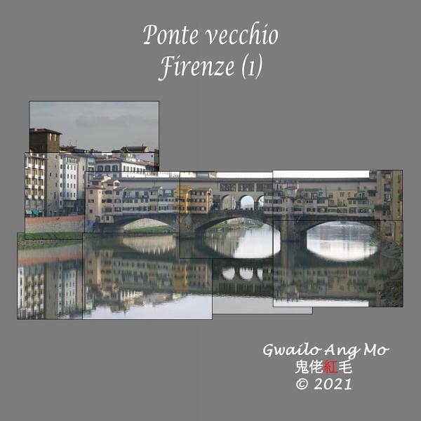 Joiner: Ponte Vecchio, Firenze by GwailoAngMo