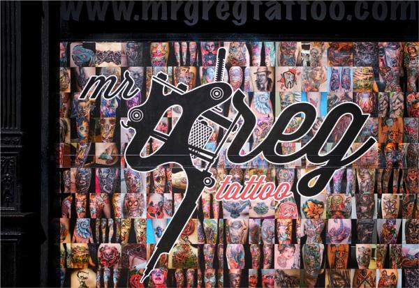 Leith #11: Mr Greg Tattoo by KingBee